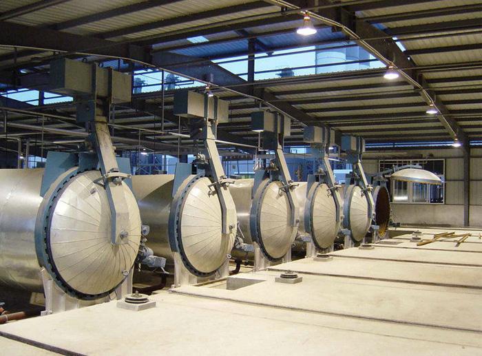 甘肃蒸压釜在各种行业中的运用